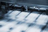 印刷业进程 — 图库照片