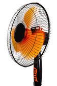 Orange fan — Stock Photo