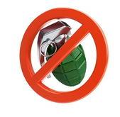 No war / no grenade — Stock Photo
