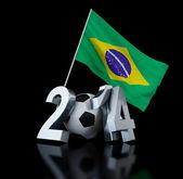 Brasilien fußball 2014 — Stockfoto