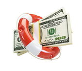Life Buoy dollar — Stock Photo