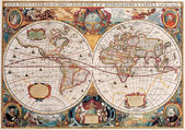 High-quality Antique Map - Henricus Hondius, 1630 — Stock Photo