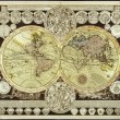 Stock Photo: High-Quality Antique Map
