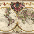 High-Quality Antique Map — Foto de Stock