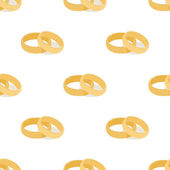 The background of the wedding rings — Vector de stock