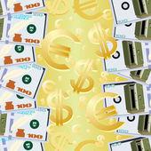 Peníze. — Stock vektor