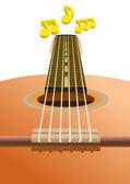 Pista de música — Vector de stock