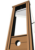 Guillotine — Stock Vector