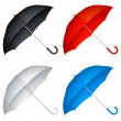 Umbrellas. — Stock Vector