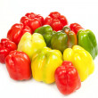 Peppers family — Stock Photo