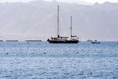 Sailing yaht — Stock Photo
