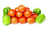 Pepper and tomato — Stock Photo