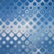 Abstract background blue bokeh circles - Foto Stock
