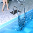 Stock Photo: Swimming pool close up