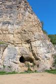 Grote grot in de berg — Stockfoto