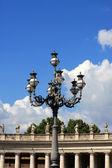 Street lamp, Vatican — Stock Photo