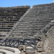 Ruins of theatre, Pompeii — Foto de stock #6869774