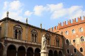 Piazza dei Signori, Verona — Stock Photo