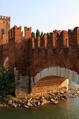 The Castelvecchio Bridge, Verona — Stock Photo