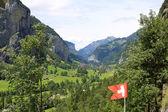 Campagne de suisse — Photo