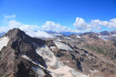 View from the top of mount Cheget — 图库照片