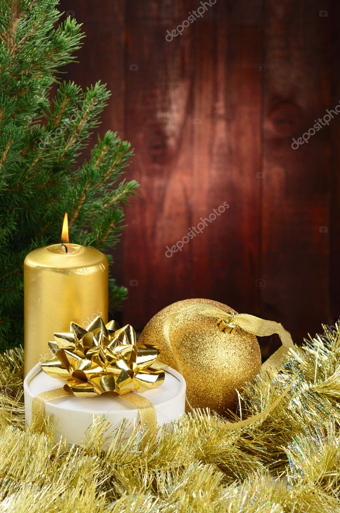 Merry Christmas and Happy New Year — Stock Photo #7331884