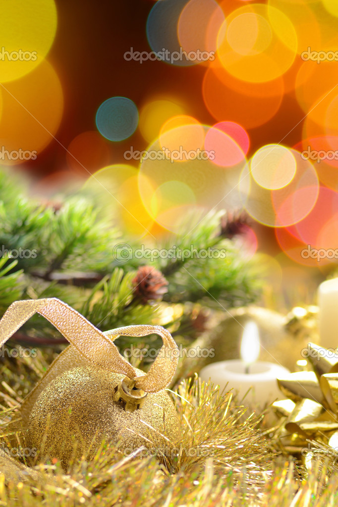 Merry Christmas and Happy New Year — Stock Photo #7331885