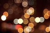 Kruhové odrazy blured světlo — Stock fotografie