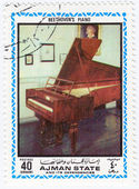 Fortepian ludwiga van beethovena — Zdjęcie stockowe