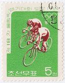 Kore sporcu bisiklet — Stok fotoğraf