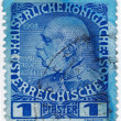 Austria, shows Franz Joseph I — Stock Photo