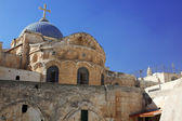 Dome on the Church of the Holy Sepulchre in Jerusalem — Stock Photo