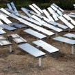 Renewable, alternative solar energy, sun-power plant — Stok fotoğraf