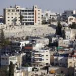 Jerusalem east district in Mount of Olives, Israel — Stock Photo