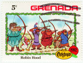 Grenada shows Robin Hood — Stock Photo