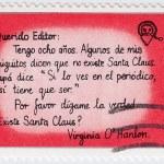 Children letter to Santa — Stock Photo