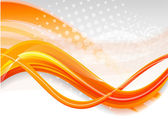 Abstract orange background — Stock Vector