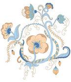 Vector floral ornament. — Stock Vector