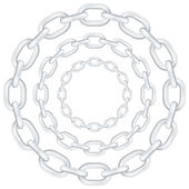 Circle chain — Stock Vector