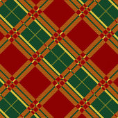 Retro textile 2 — Stock Vector
