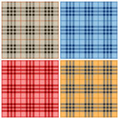 Plaid pattern 2 — Stock Vector