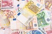 Euros background 2 — Stock Photo