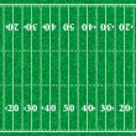 ������, ������: American football field