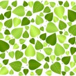Stock Vector: Green leaf background 3