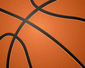 Basketbal bal textuur — Stockvector