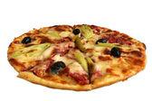 Isolated pizza 2 — Stock Photo