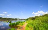 Lugna floden — Stockfoto