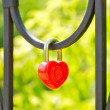 Love Lock — Stock Photo