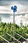 Blue Garden Windmill — Stock Photo
