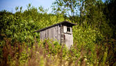 Old Outhouse Waiting For You — Stock Photo
